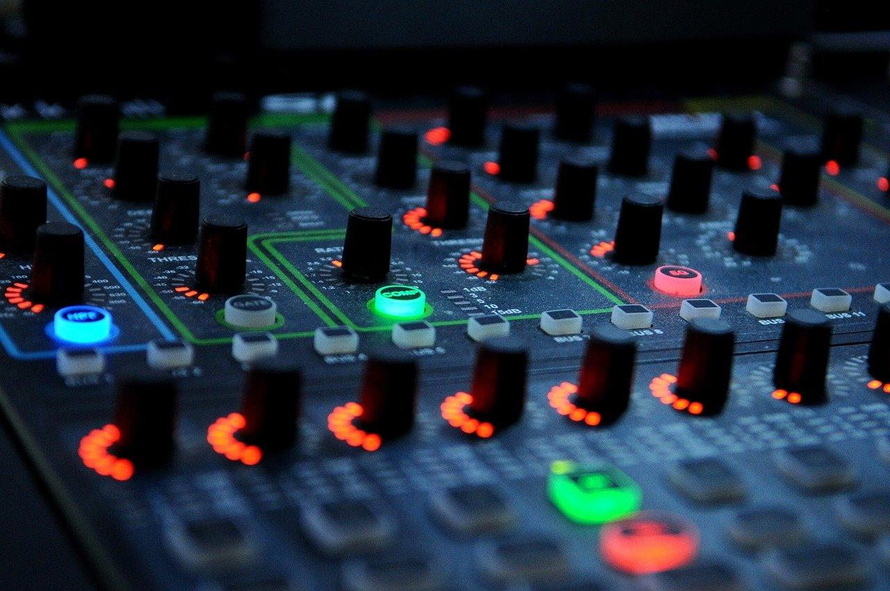 dj, mixer, music